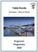 Table Ronde Programmcover 2020